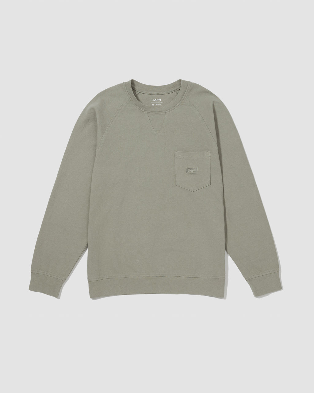 Pocket Long Tee - Mist Green