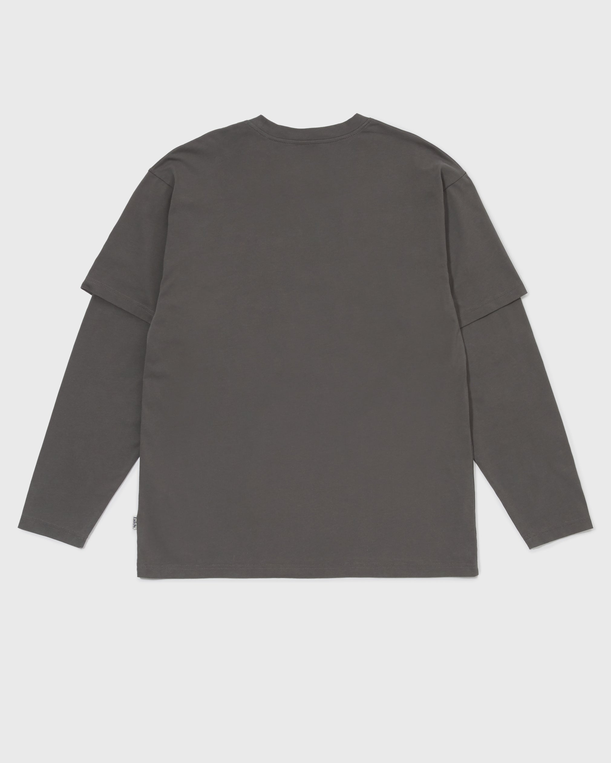 Layered LS Tee - Dark Grey