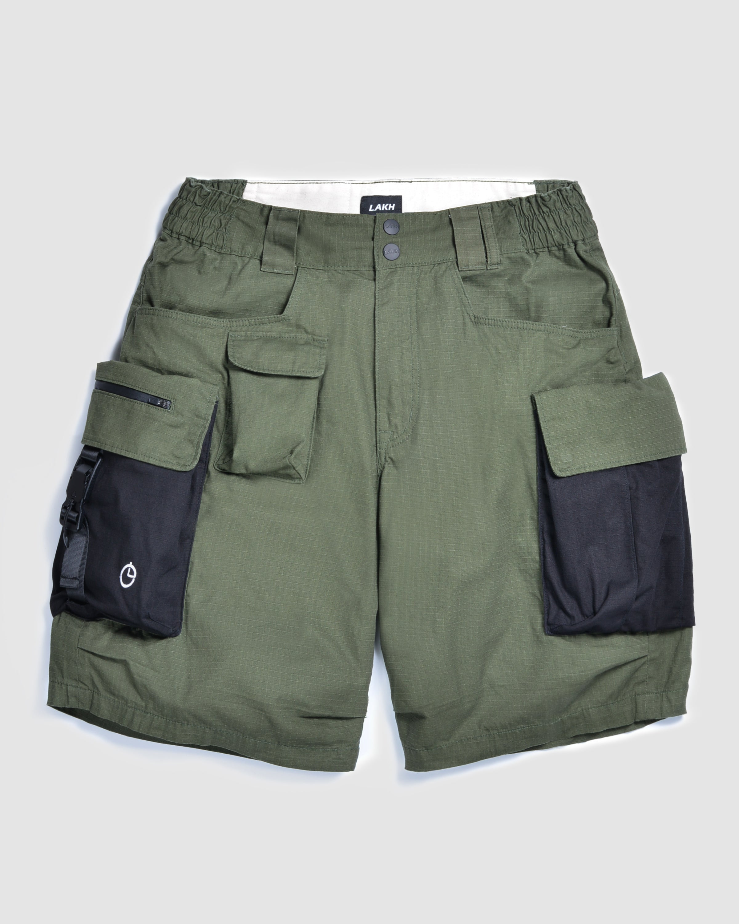 LAKH with SECOND KILL Ten Pockets Cargo Shorts