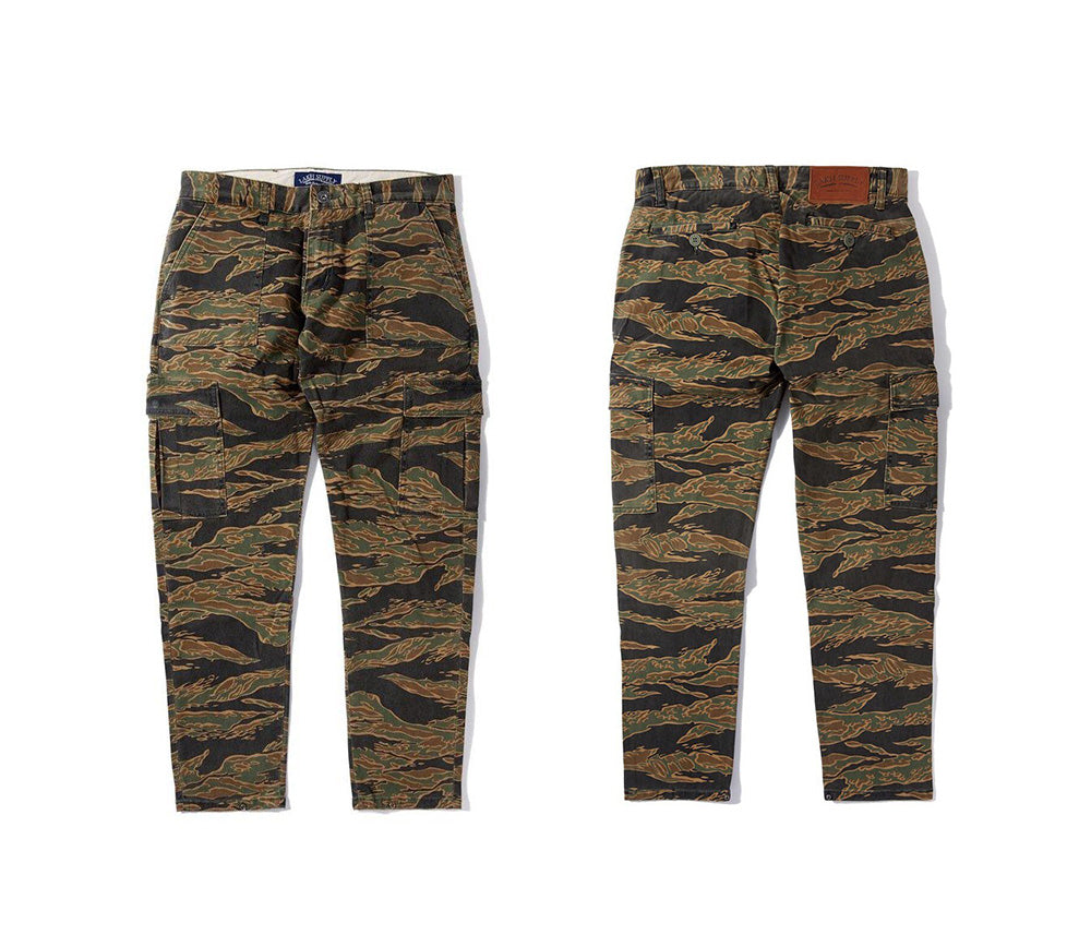 Button Pants - Tiger Camo