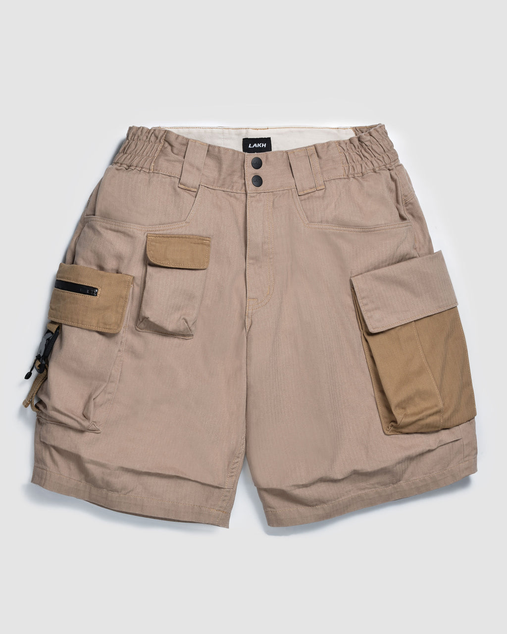 LAKH with HUSKY Ten Pockets Cargo Shorts