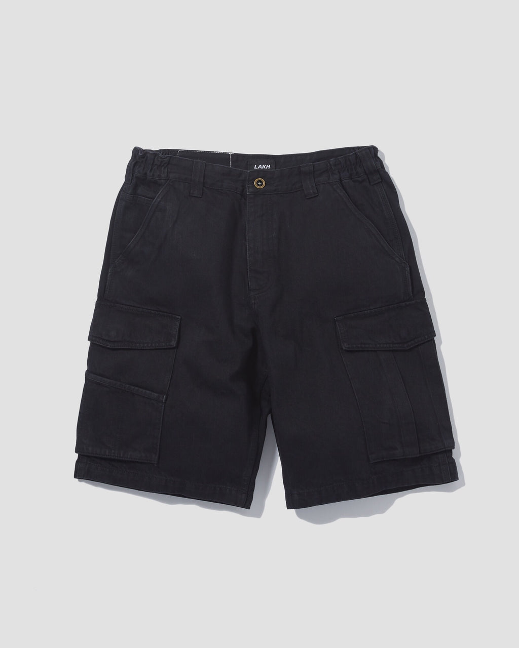 Cargo Shorts Denim - Black
