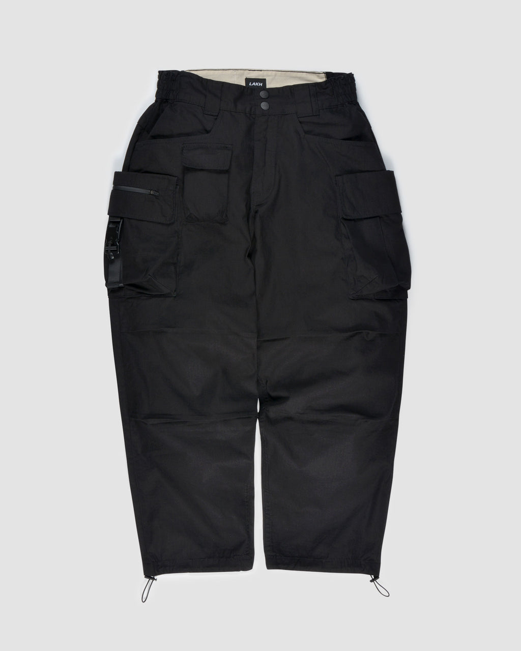 Ten Pockets Cargo Pants - Ripstop Black