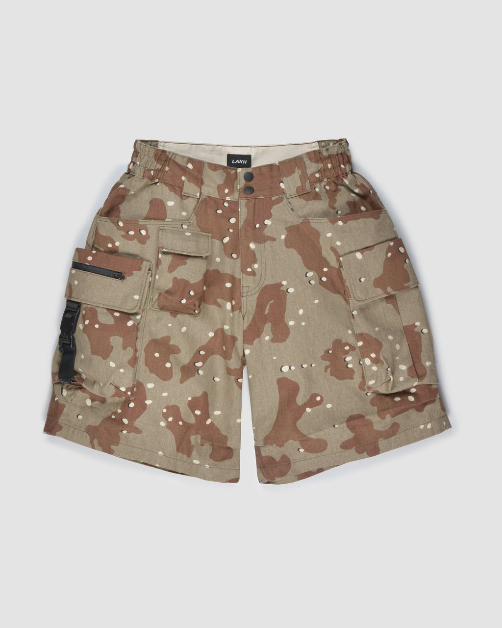 Ten Pockets Cargo Shorts - Desert Camo