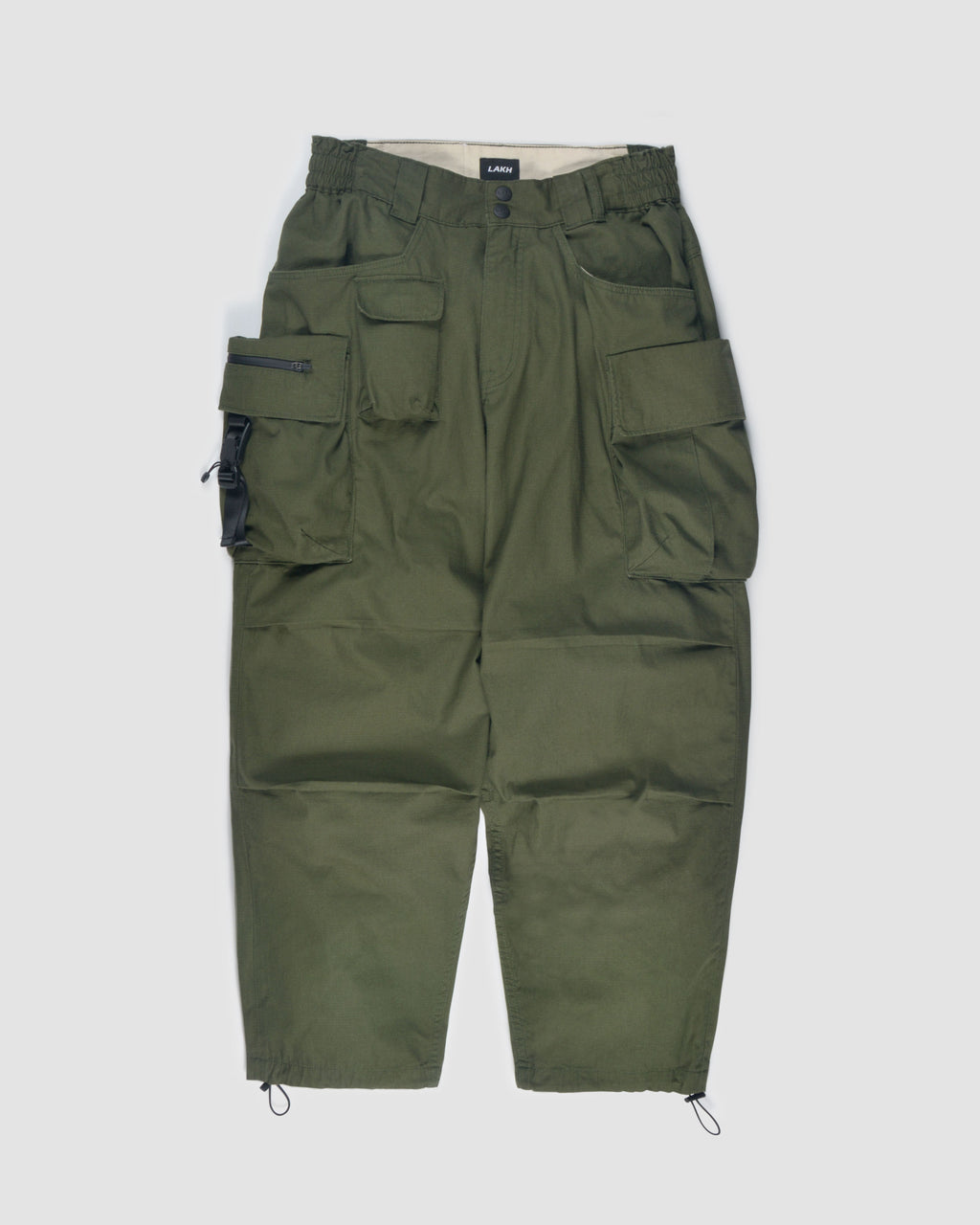 Ten Pockets Cargo Pants - Ripstop Olive