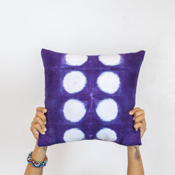 Purple Dots Pillow