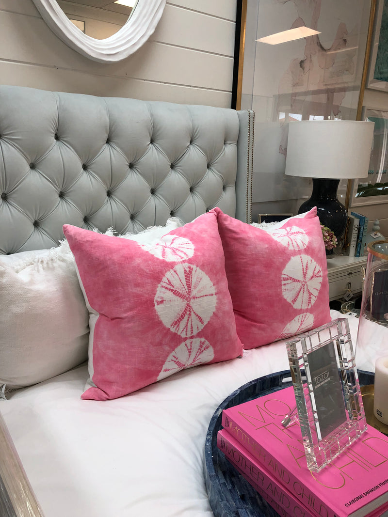 Pretty in Pink Multi Sand Dollar Pillow