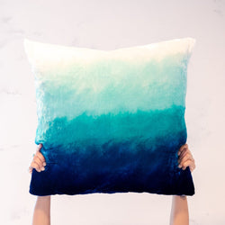 Seaside Velvet Pillow