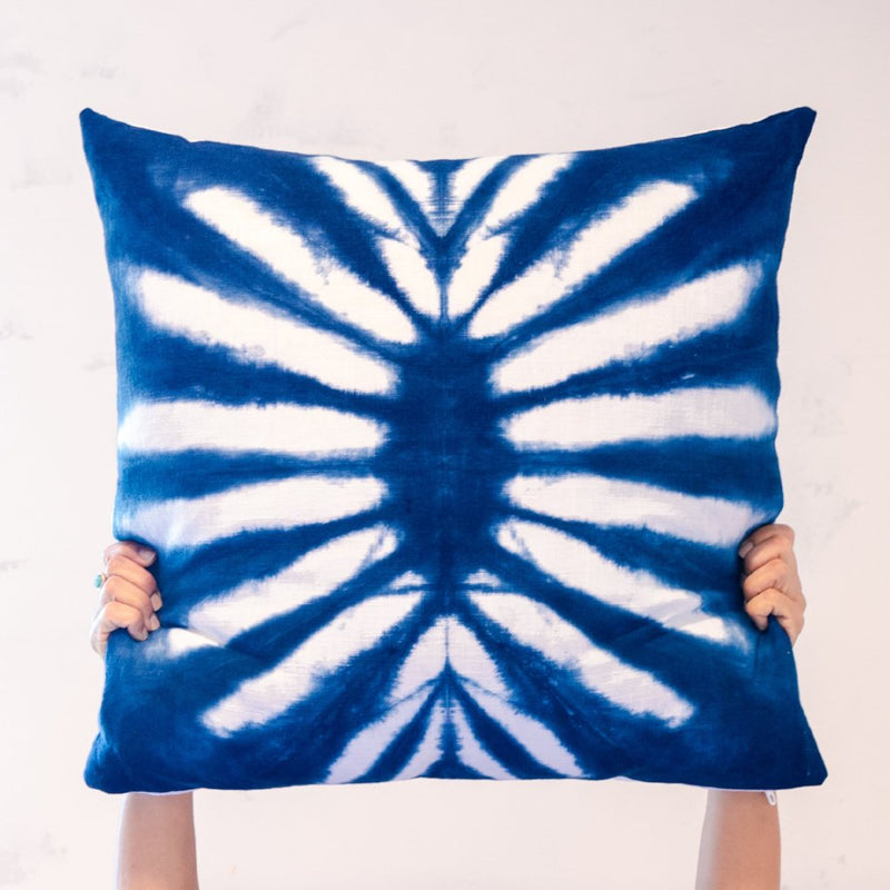 Moody Blues Sunburst Pillow