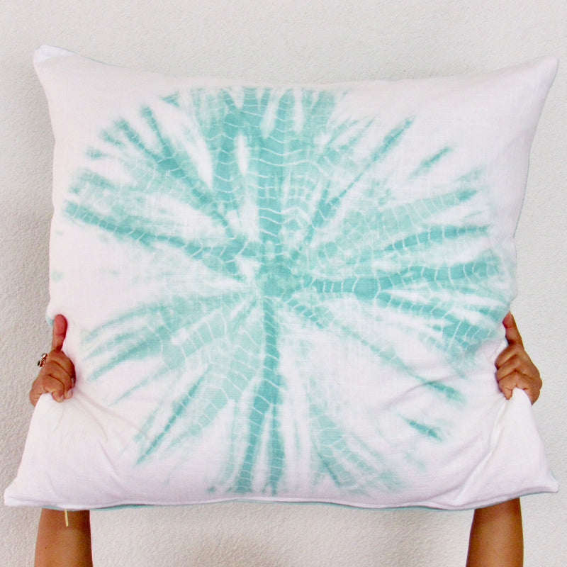 Seaside Ghost Sand Dollar Pillow