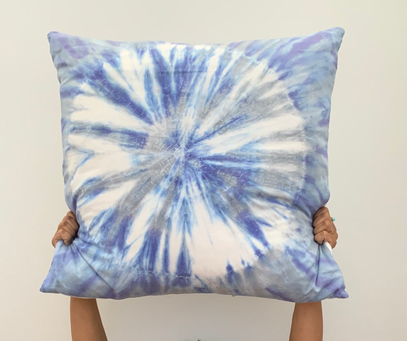 Coastal Blues Sand-dollar Pillow