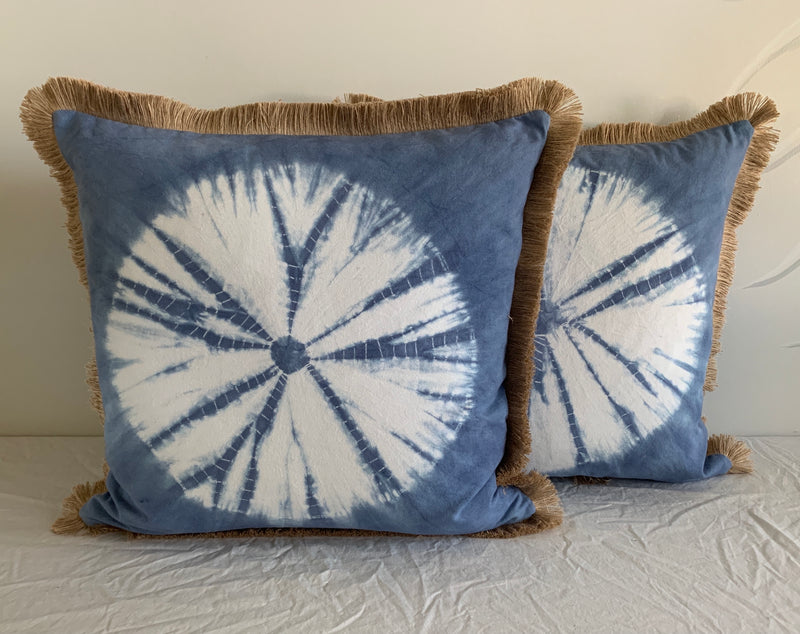 Fringe Sand-dollar Pillow