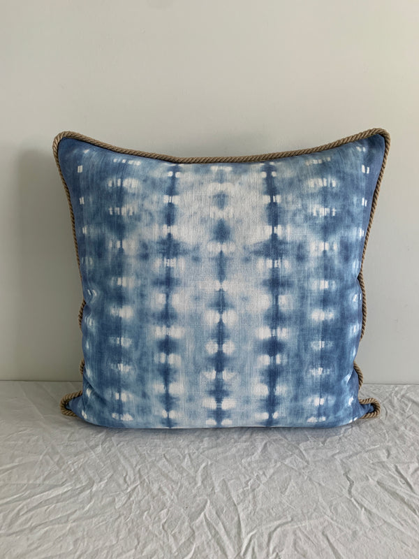 Denim Blue Bamboo Pillow