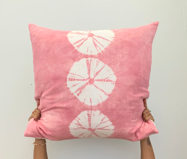 Blush Pink Sand-dollar Stripe