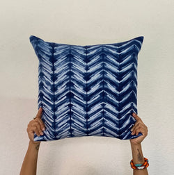 Moody Blues Chevron Pillow