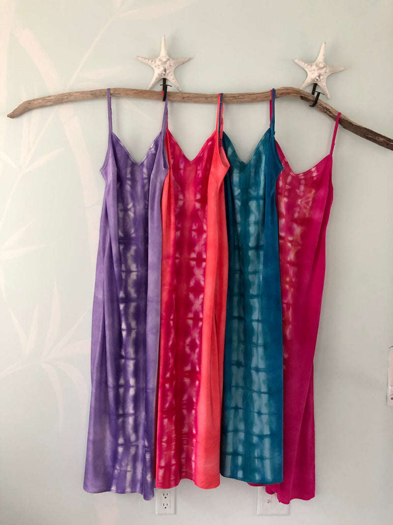 Gem Silk Slip Dress