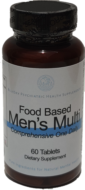 Food Based Men's Multi Vitamin One A Day - 60 Tablets