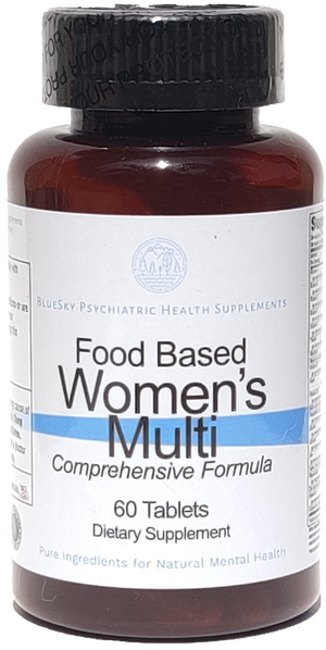 Food based Womens Multi Vitamin - 60 Tablets
