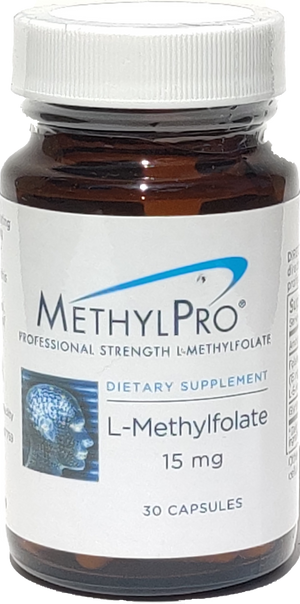 MethylPro L-Methylfolate 15 mg - 90 Capsules