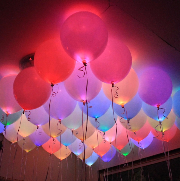 Mini LED ballons