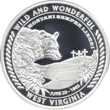 Load image into Gallery viewer, West Virginia 150th Sesquicentennial Heritage Coin
