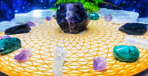 Grounding Crystals + Self Care for Empaths | DivineLife Crystals