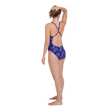 Women's End Allover Rippleback  Nav / Purple
