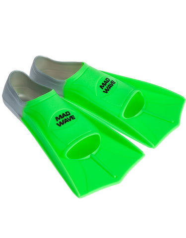 Silicone Training Fin Grey-Green