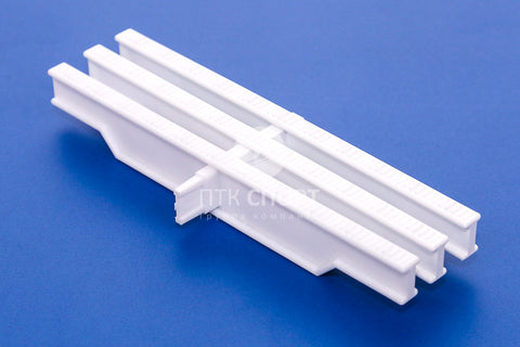 Drainage Grill Overflow grate white (1 lock) 22mm*295mm