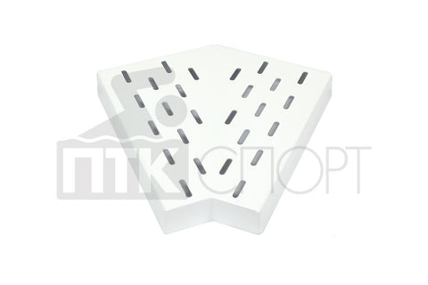Drainage Grill Corner piece 45 ° for overflow channels 35mm*195mm