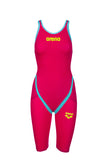 Women's Carbon Flex VX Kneeskin Openback Red - Turquoise