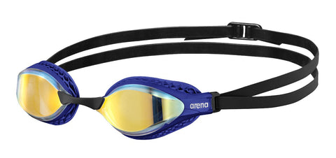 Goggle Airspeed Mirror Yellow Copper - Blue