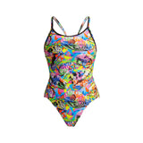Women's One Piece Diamond Back Fossil Fuel