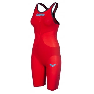 Women's Powerskin Carbon Air 2 Open Back Kneesuit Red