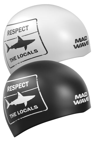 Silicone cap Respect Reversible Black