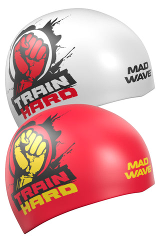 Silicone cap Train Hard Reversible Red