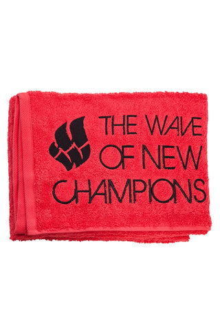 Towel Wave Red