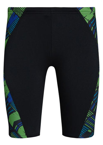 Men's Track Jammer Black-Green