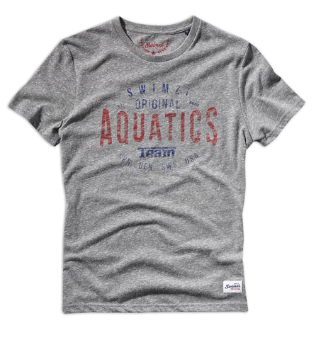 Short Sleeve Grey Aquatics