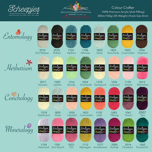 Scheepjes Cal 2020 Colour Crafter