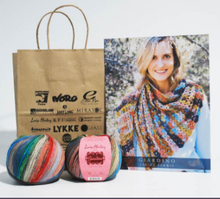 Load image into Gallery viewer, Louisa Harding Perris Crochet Shawl Kit