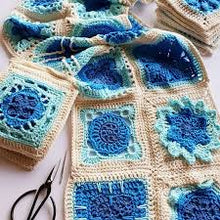 Load image into Gallery viewer, Sirens Atlas An Ocean of Granny Squares