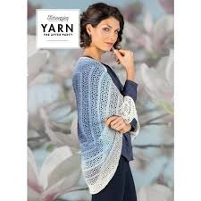 Scheepjes Yarn After Party Indigo Shrug