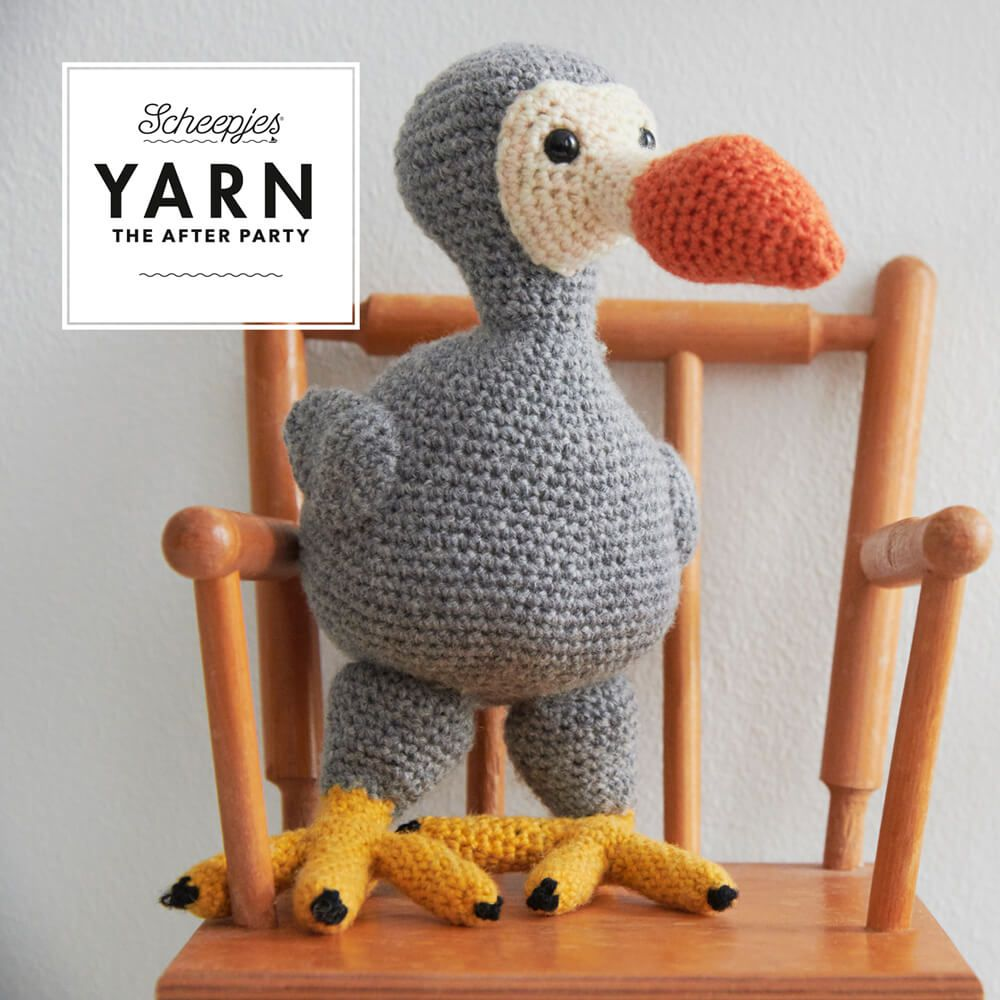 Yarn After Party No.64 Finn the Dodo