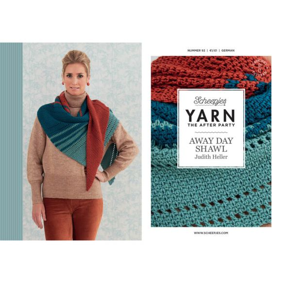 Yarn After Party N0, 92 Away Day Shawl