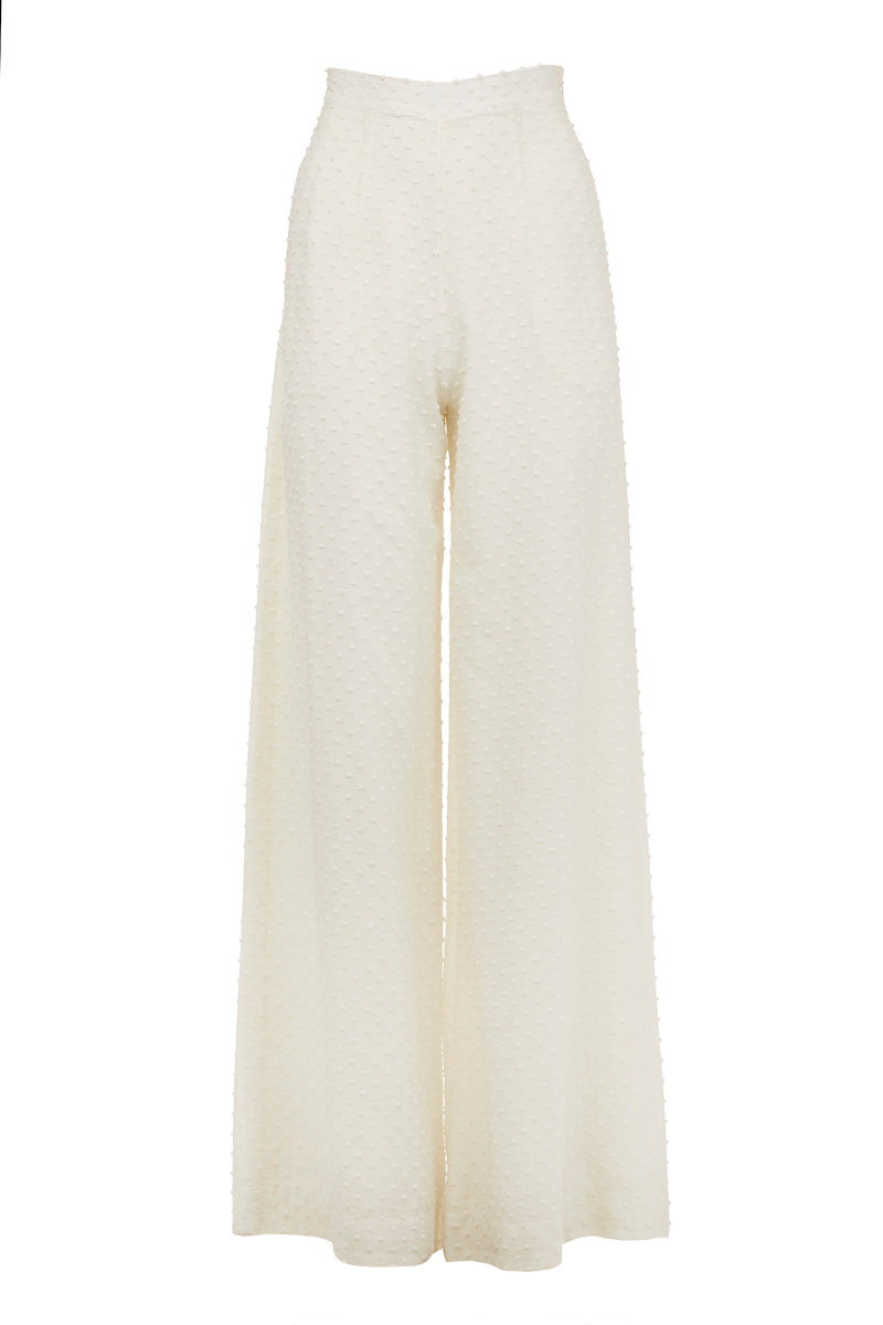 Plumetis High Waisted Pant