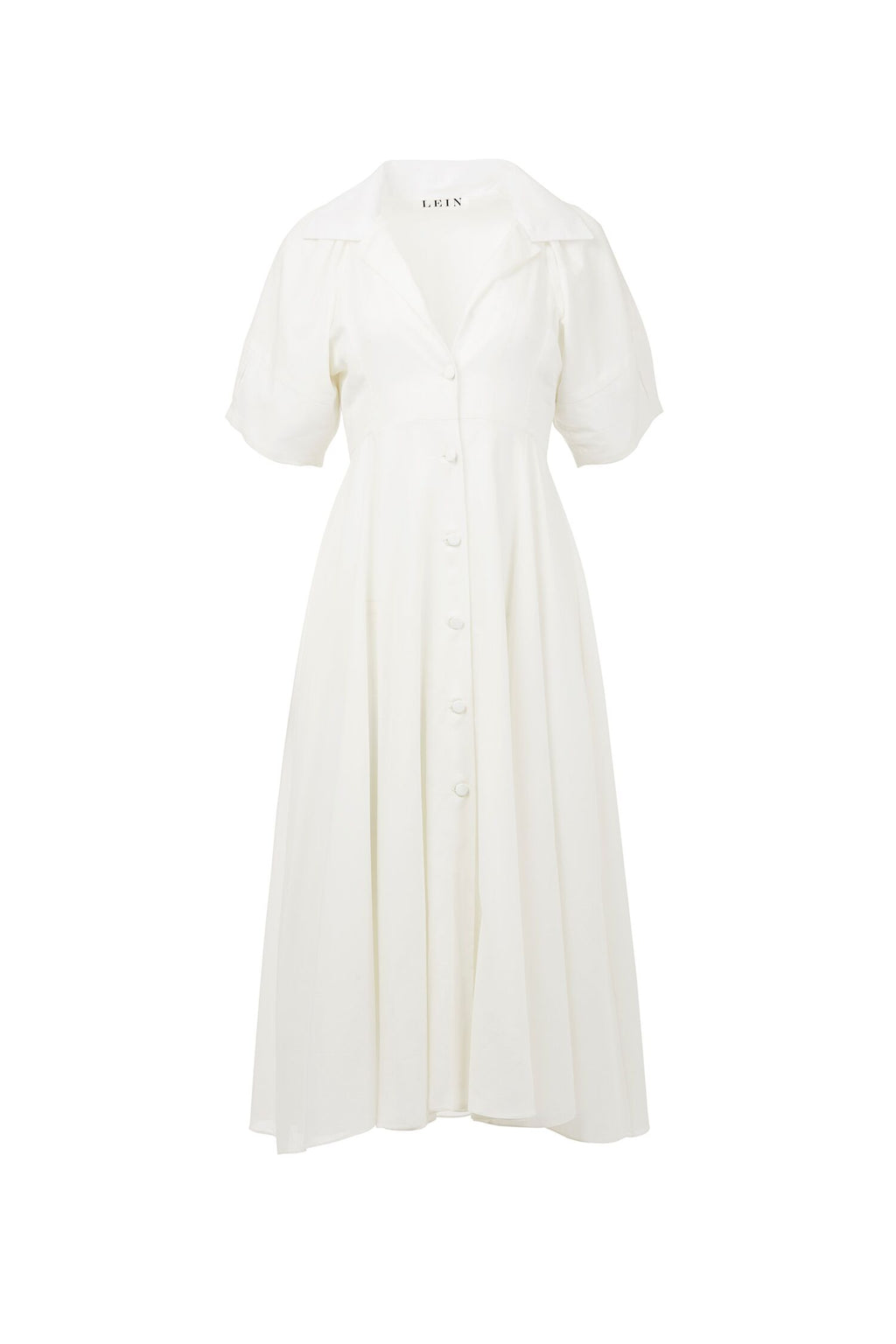 Madsie's Button-Down Cotton Maxi Dress