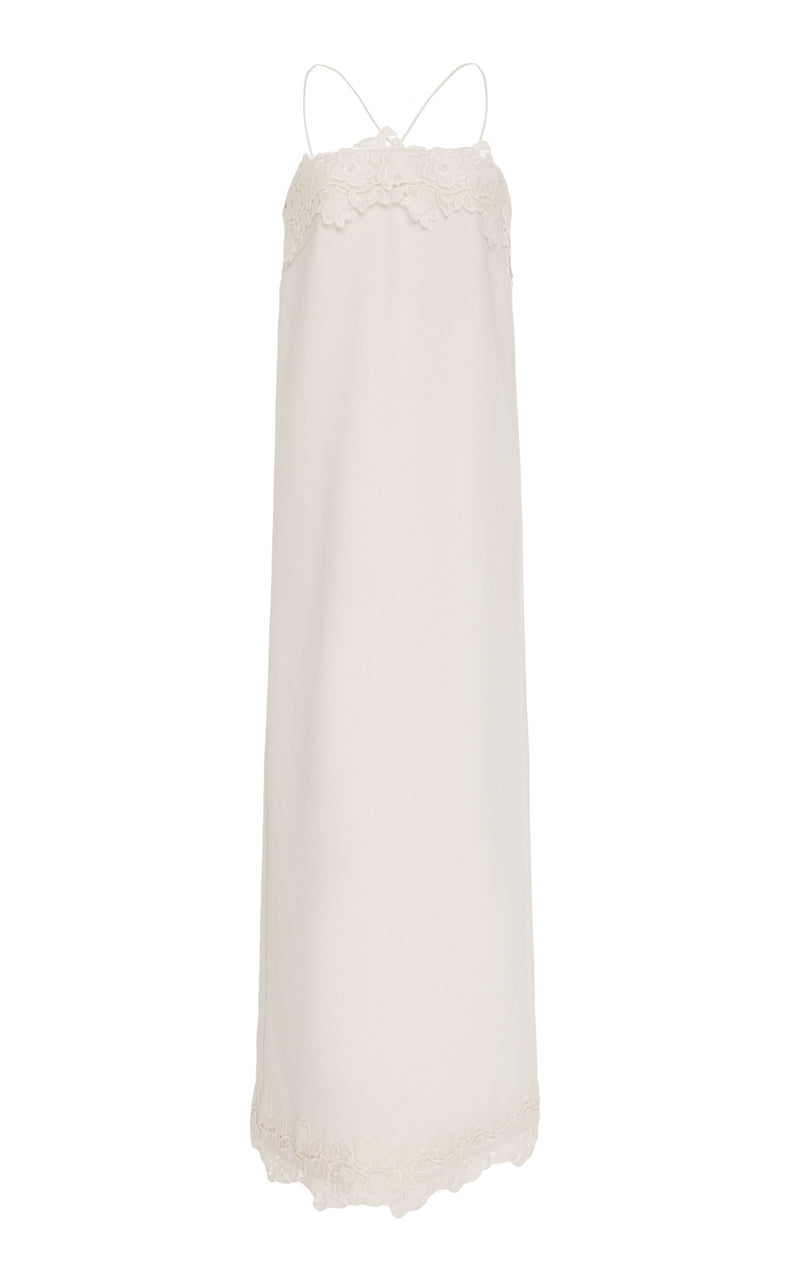 Cashmere And Wool Column Dress