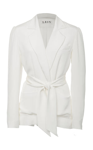 Chalk Eternal City Crepe Jacket