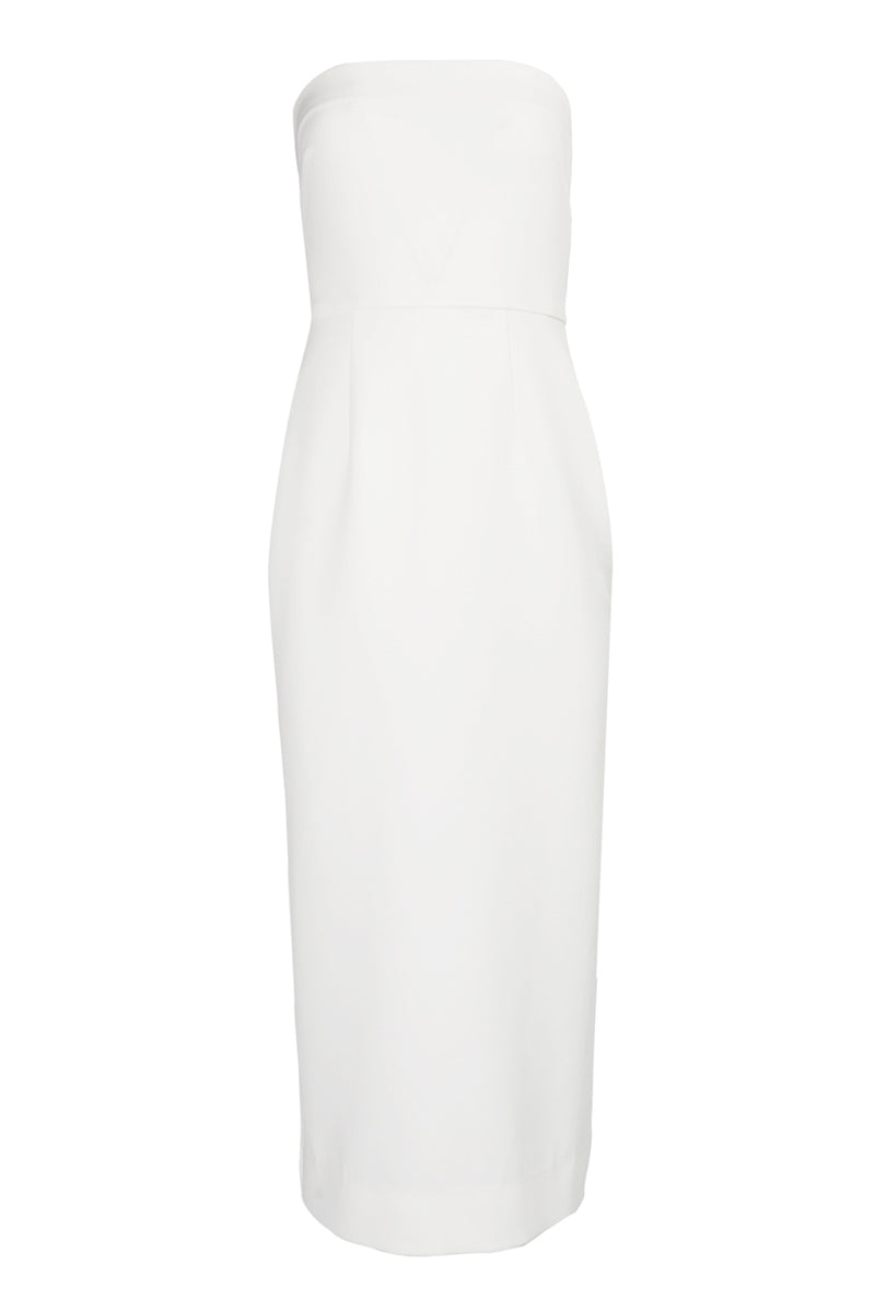 Crepe Strapless Sherry Dress